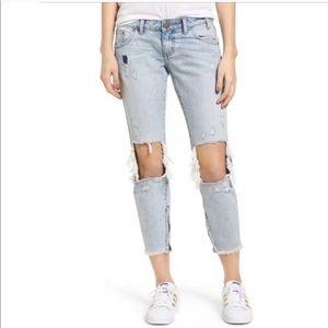 NEW Gymboree Baby Light Wash Skinny Jeans w//Stretch Waist C8-17